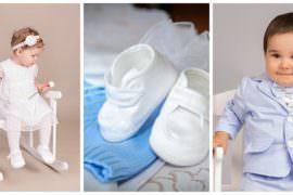 Dzieci i ubranka do chrztu