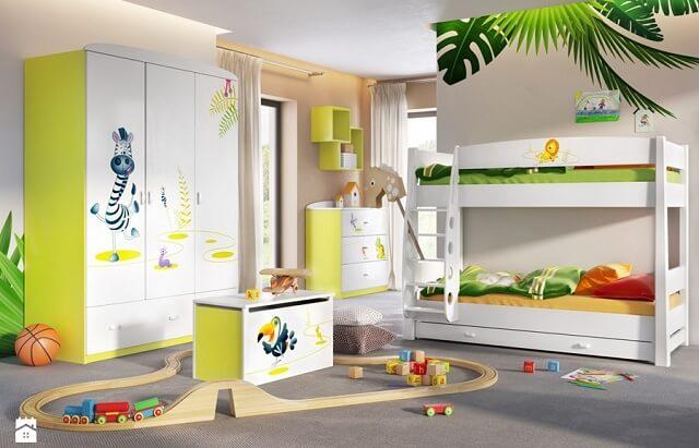 Pokój dziecka w stylu safari