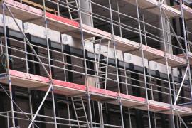 rusztowania na budowie - typy rusztowań artykuł
