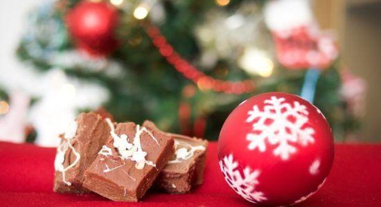 Świąteczna bobmbka i czekolada