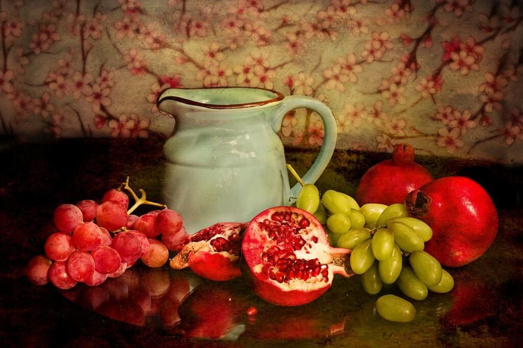 owoce i woda
