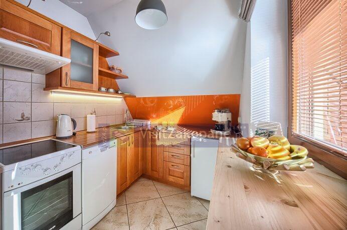 Kuchnia w apartamencie Giewont View