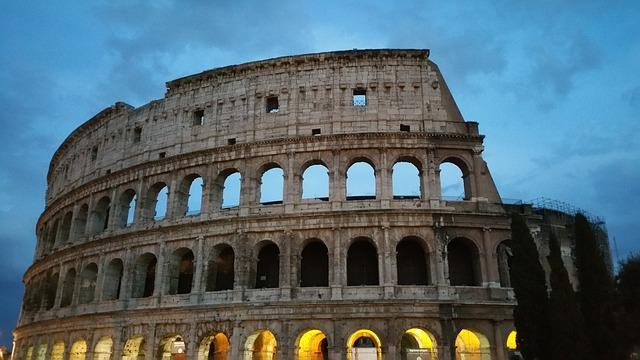 Koloseum we włoszech