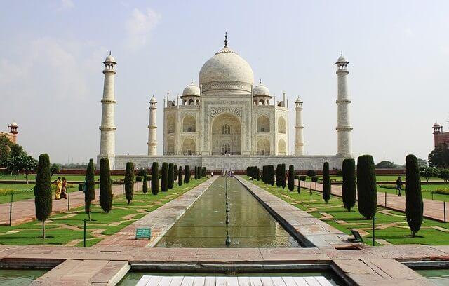 Tadż Mahal w Indiach