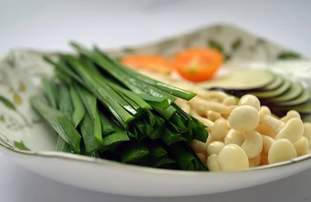 Warzywa w półmisku