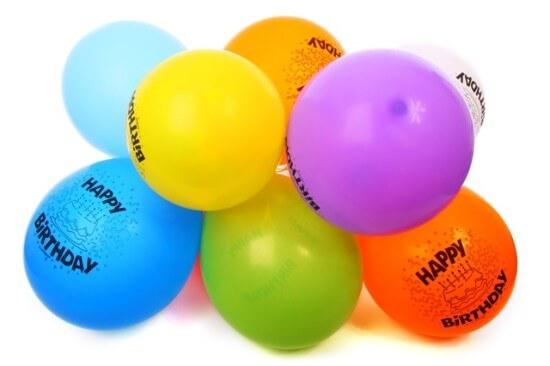balony urodziny