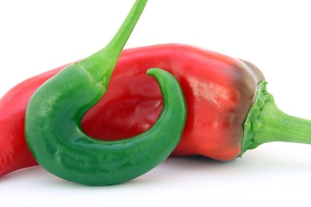 papryczka chilli czerwona i zielona