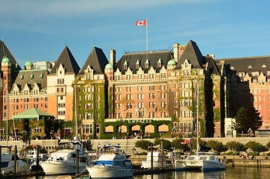 hotel w kanadyjskim mieście