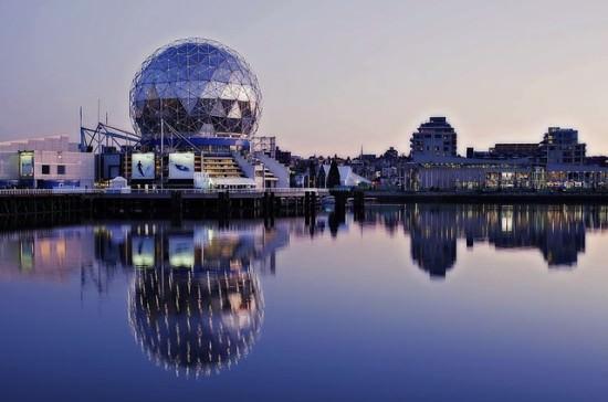 zdjęcie kanadyjskiego miasta