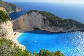 morze, grecja, wyspa