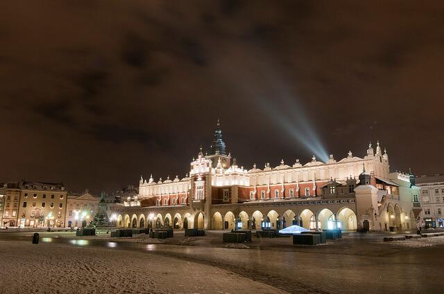 Kraków na święta