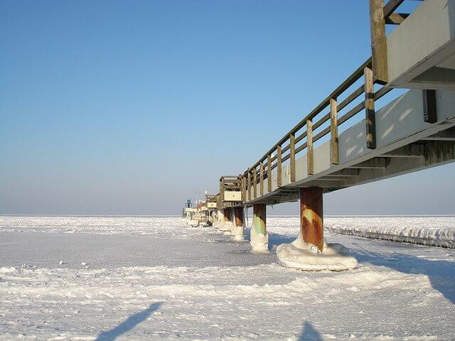 Morze Bałtyckie na święta