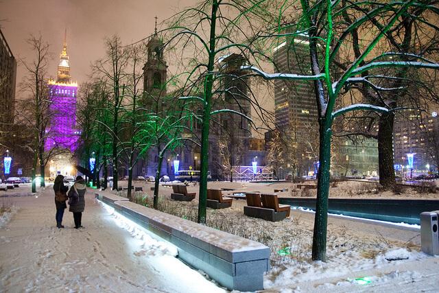 Warszawa na święta