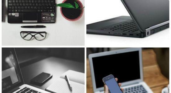 Laptopy różnych marek