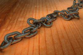 Gruby łańcuch