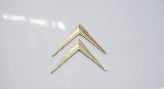 logo samochodu Citroen