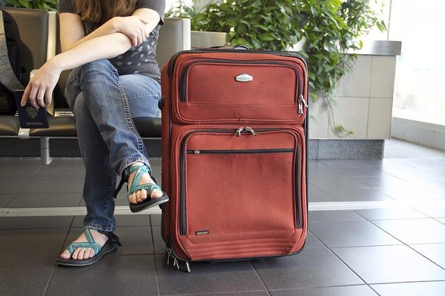 podróżnik z bagażem