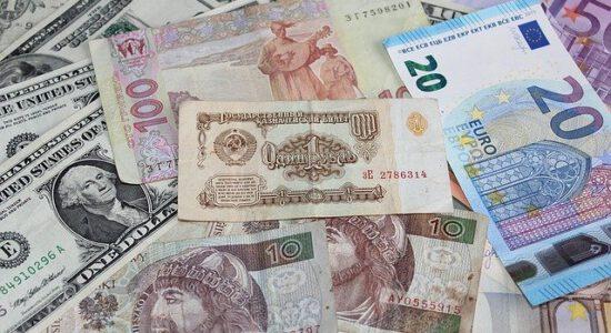 Rozłożone banknoty
