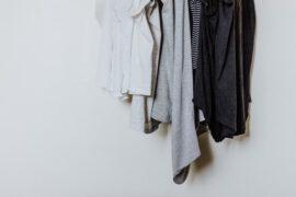 Wiszące ubrania