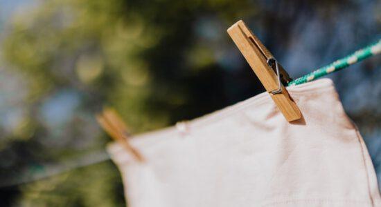 Wywieszone pranie